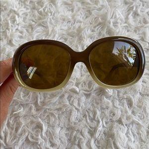 COLE HAAN brown & tan ombré style sunglasses